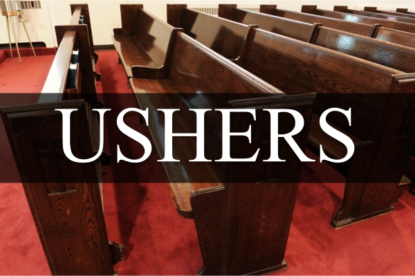 Image result for church ushers